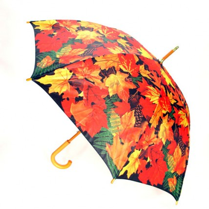 Paraguas Hojas de Otoño