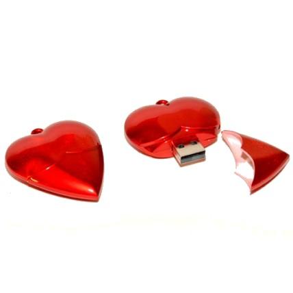 Memoria USB Corazón