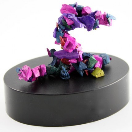 Escultura Magnética Piedras Arco Iris