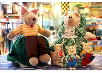 Muñeca Cuentacuentos Los Tres Cerditos