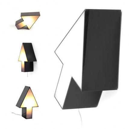 Lámpara Flecha Negra aplique / sobremesa