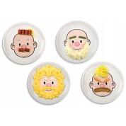 Plato Face Food