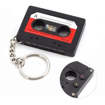 Llavero Cassette Regrabable