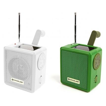 RADIO SOLAR/DINAMO VERDE