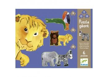 Puzzle Progresivo Animales Selva