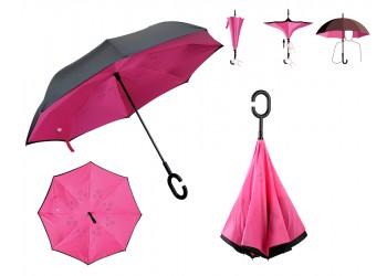 Paraguas Inverso Fucsia