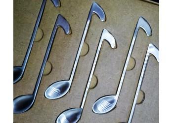 Cucharillas Notas Musicales
