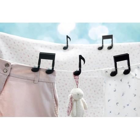 Pinzas Notas Musiclips