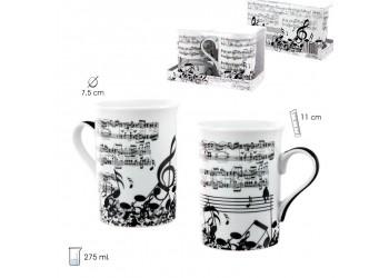 2 Tazas Música Partituras