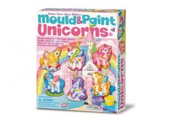 Moldear y Pintar Unicornios