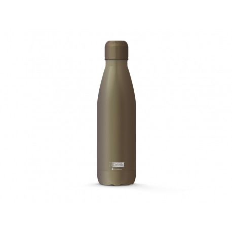 BOTELLA TERMO 500ml  GRIS METALIZADO