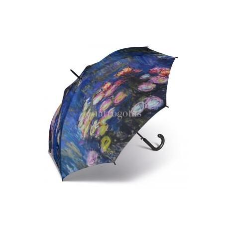 Paraguas Monet Flores automático