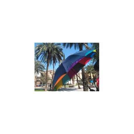 Paraguas Arco Iris automático doble