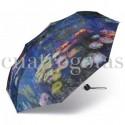 Paraguas Plegable Monet Nenúfares