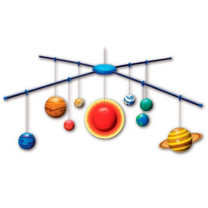 Móvil Sistema Solar XL 3D