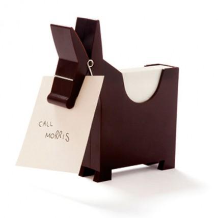 Burro Memo Morris Chocolate