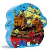 Puzzle Silueta Barco Pirata