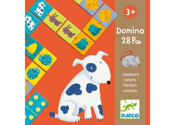 Dominó Animales Colores