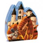 Puzzle Silueta Dragón
