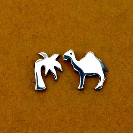 Pendientes Camello y Palmera