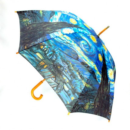 Paraguas Van Gogh Noche Estrellada