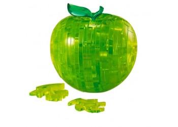 Puzzle 3D Cristal Manzana Verde